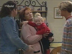 Toadie Rebecchi, Cheryl Stark, Louise Carpenter (Lolly), Billy Kennedy in Neighbours Episode 2678