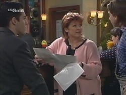 Steve George, Cheryl Stark, Darren Stark in Neighbours Episode 2678