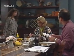 Hannah Martin, Helen Daniels, Philip Martin in Neighbours Episode 2680