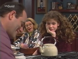 Philip Martin, Helen Daniels, Hannah Martin in Neighbours Episode 2680