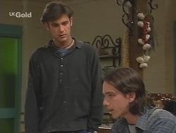 Malcolm Kennedy, Darren Stark in Neighbours Episode 2681