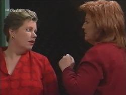 Jude McGinty, Cheryl Stark in Neighbours Episode 2682