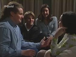 Toadie Rebecchi, Billy Kennedy, Melissa Drenth, Fleur Williamson in Neighbours Episode 2682