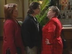 Cheryl Stark, Darren Stark, Jude McGinty in Neighbours Episode 2682