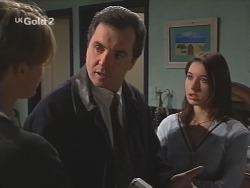 Billy Kennedy, Karl Kennedy, Melissa Drenth in Neighbours Episode 2683