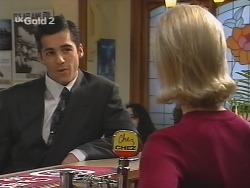 Steve George, Joanna Hartman in Neighbours Episode 2683