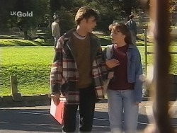 Malcolm Clarke, Libby Kennedy in Neighbours Episode 2684