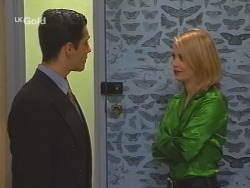 Steve George, Danni Stark in Neighbours Episode 2685
