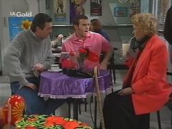 Karl Kennedy, Stonie Rebecchi, Helen Daniels in Neighbours Episode 2685