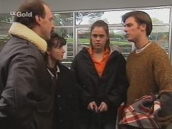 Alan McKenna, Susan Kennedy, Shona Munro, Malcolm Kennedy in Neighbours Episode 2685
