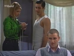 Danni Stark, Steve George, Luke Handley in Neighbours Episode 2685