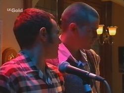 Stonie Rebecchi, Luke Handley in Neighbours Episode 2685