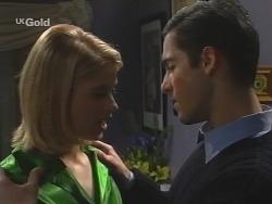 Danni Stark, Steve George in Neighbours Episode 2685