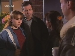 Libby Kennedy, Karl Kennedy, Susan Kennedy, Alan McKenna in Neighbours Episode 2686