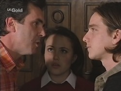 Karl Kennedy, Libby Kennedy, Darren Stark in Neighbours Episode 2686