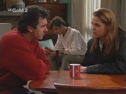 Karl Kennedy, Malcolm Kennedy, Shona Munro in Neighbours Episode 2687