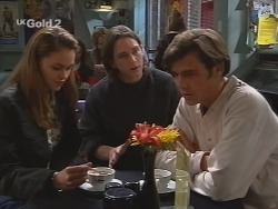 Shona Munro, Darren Stark, Malcolm Kennedy in Neighbours Episode 2687