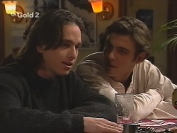 Darren Stark, Malcolm Kennedy in Neighbours Episode 2687