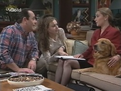 Philip Martin, Debbie Martin, Roz Kemp, Holly in Neighbours Episode 2688