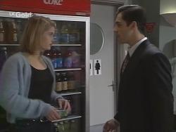 Danni Stark, Steve George in Neighbours Episode 2688