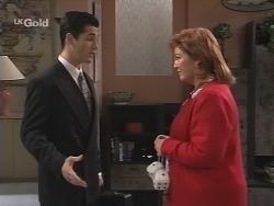 Steve George, Cheryl Stark in Neighbours Episode 2688