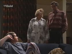 Toadie Rebecchi, Angie Rebecchi, Mick Anderson in Neighbours Episode 2689