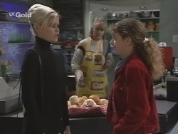 Joanna Hartman, Angie Rebecchi, Hannah Martin in Neighbours Episode 2689