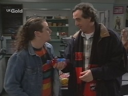 Toadie Rebecchi, Mick Anderson in Neighbours Episode 2689