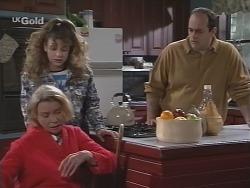 Helen Daniels, Hannah Martin, Philip Martin in Neighbours Episode 2690