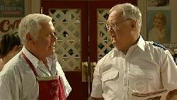Lou Carpenter, Harold Bishop in Neighbours Episode 5231