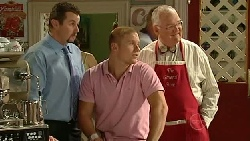 Toadie Rebecchi, Boyd Hoyland, Harold Bishop in Neighbours Episode 5236