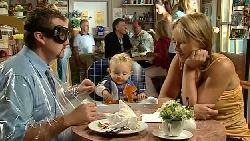 Toadie Rebecchi, Charlie Hoyland, Steph Scully in Neighbours Episode 5236