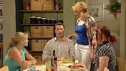 Janae Timmins, Allan Steiger, Janelle Timmins, Bree Timmins in Neighbours Episode 5237