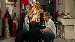 Mickey Gannon, Kirsten Gannon, Ned Parker, Jake in Neighbours Episode 5237