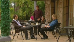 Tomas Bersky, Paul Robinson, Andrew Robinson in Neighbours Episode 6136