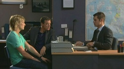 Andrew Robinson, Paul Robinson, Mark Brennan in Neighbours Episode 6137