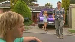 Andrew Robinson, Natasha Williams, Michael Williams in Neighbours Episode 6137