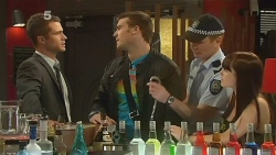Mark Brennan, Tomas Bersky, Policeman, Summer Hoyland in Neighbours Episode 6137