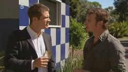 Mark Brennan, Lucas Fitzgerald in Neighbours Episode 6140