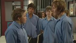 Callum Jones, Dean Harman in Neighbours Episode 6140