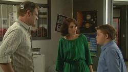 Michael Williams, Libby Kennedy, Callum Jones in Neighbours Episode 6140