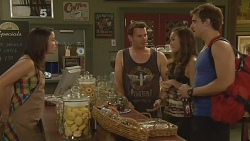 Kate Ramsay, Lucas Fitzgerald, Jade Mitchell, Kyle Canning in Neighbours Episode 6140