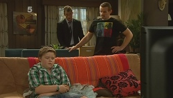 Callum Jones, Mark Brennan, Toadie Rebecchi in Neighbours Episode 6143