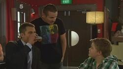 Mark Brennan, Toadie Rebecchi, Callum Jones in Neighbours Episode 6143