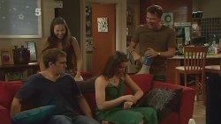 Kyle Canning, Jade Mitchell, Kate Ramsay, Lucas Fitzgerald in Neighbours Episode 6144