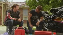 Lucas Fitzgerald, Mark Brennan in Neighbours Episode 6144