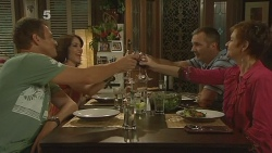 Michael Williams, Libby Kennedy, Karl Kennedy, Susan Kennedy in Neighbours Episode 6145