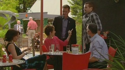 Libby Kennedy, Susan Kennedy, Paul Robinson, Toadie Rebecchi, Karl Kennedy in Neighbours Episode 6147