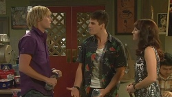 Andrew Robinson, Chris Pappas, Summer Hoyland in Neighbours Episode 6147