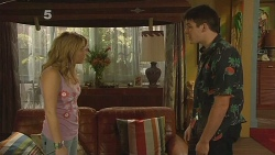 Natasha Williams, Chris Pappas in Neighbours Episode 6148